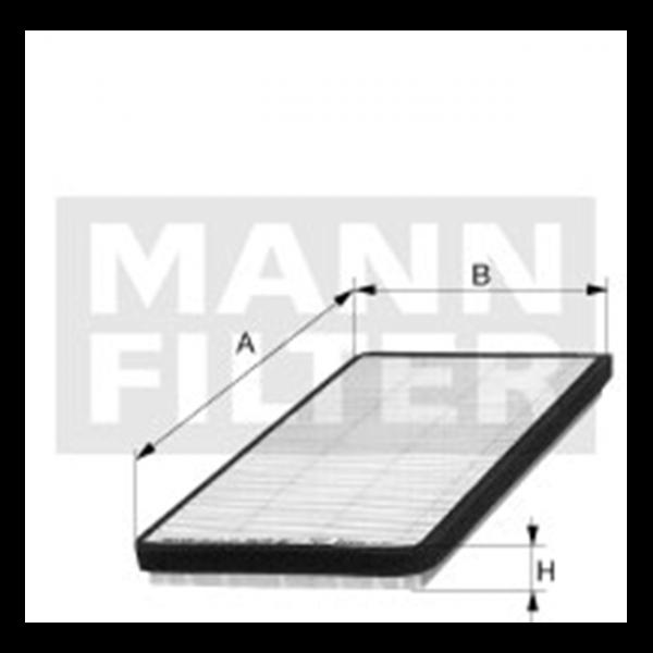 MANN MANN-Filter CU 2136 - Stück