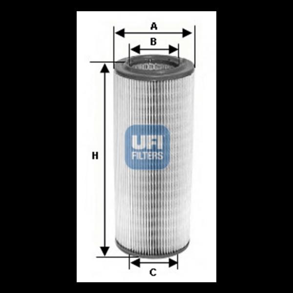 Ufi Luftfilter 27.735.00 - Stück