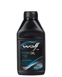 Wolf Oil Fork Oil 15W - 500ml Dose