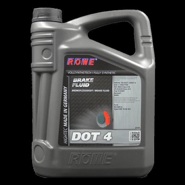 ROWE Rowe Hightec Brake Fluid DOT 4 - 5L Kanne
