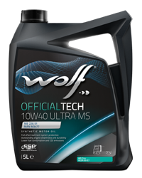 Wolf Oil Officialtech 10W40 Ultra MS - 5L Kanne
