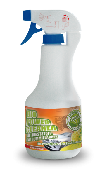 bluechem Bio Power Cleaner for Plastic and Rubber (BPPR) - 500ml Sprühflasche