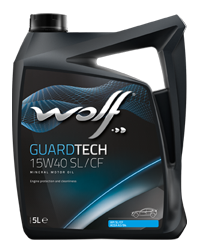 Wolf Oil Guardtech 15W40 SL/CF - 5L Kanne