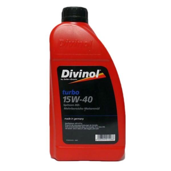 Zeller & Gmelin Divinol Turbo 15W-40 - 1L Flasche
