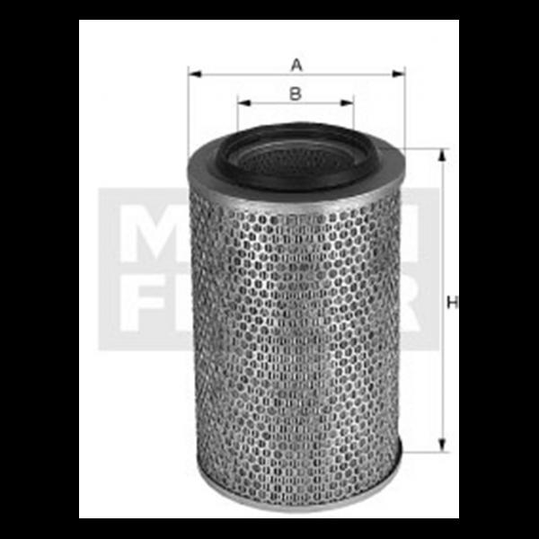 MANN MANN-Filter C 25 655 - Stück