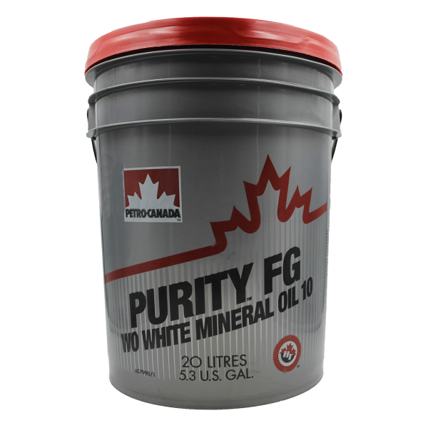 Petro-Canada Purity FG WO White Mineral Oil 10 - 20L Kanne