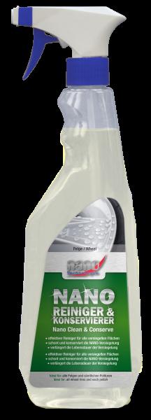 bluechem Nano Reiniger und Konservierer Felge - 500ml Sprühflasche