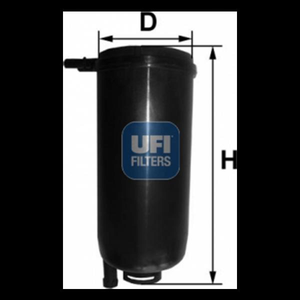 Ufi Kraftstofffilter 31 071 00 - Stück