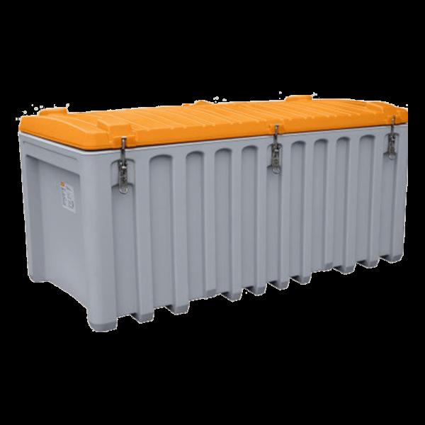 Cemo CEMbox 750 l, grau/orange - Stück