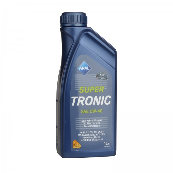 Aral SuperTronic 0W-40 - 1L Dose