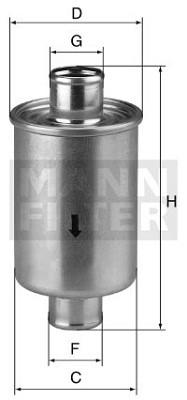 MANN MANN-Filter W 76/1 - Stück