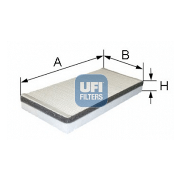 Ufi Innenraumfilter 53.059.00 - Stück