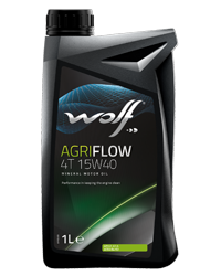 Wolf Oil Agriflow 4T 15W40 - 1L Dose