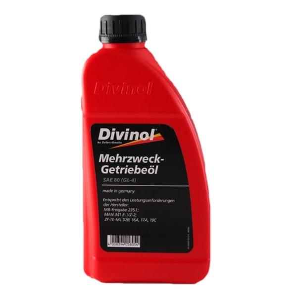 Divinol Mehrzweck-Getriebeöl SAE 80 - 1L Flasche