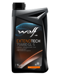 Wolf Oil Extendtech 75W80 GL 5 - 1L Dose
