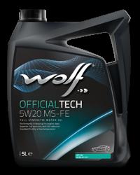 Wolf Oil Officialtech 5W20 MS-FE - 4L Kanne