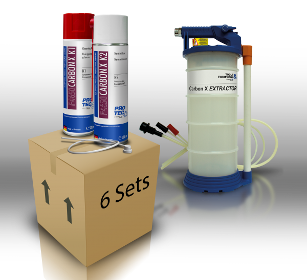 bluechem Carbon X Combustion Chamber Cleaner K1+K2 (CX) - Set