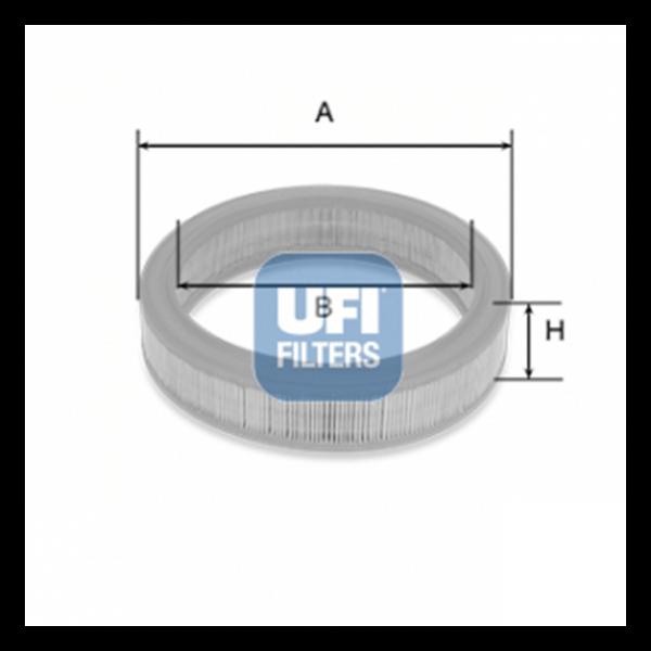 Ufi Luftfilter 30.038.01 - Stück
