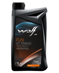Wolf Oil Fun 4T 15W40 - 1L Dose