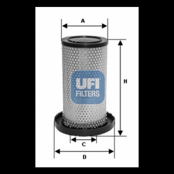 Ufi Luftfilter 27.175.00 - Stück