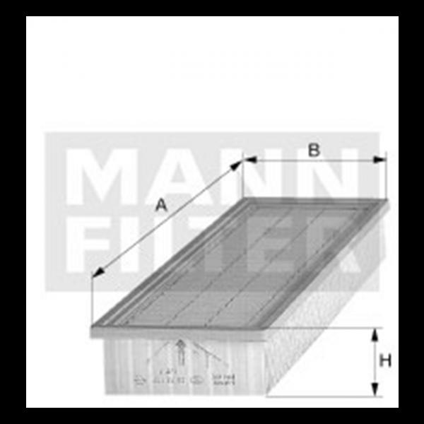 MANN MANN-Filter CU 3939 - Stück