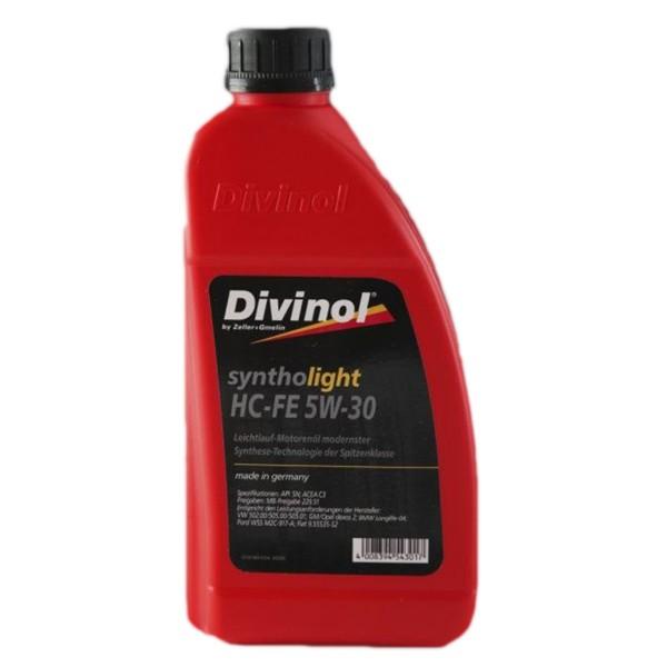 Zeller & Gmelin Divinol Syntholight HC-FE 5W-30 - 1L Flasche