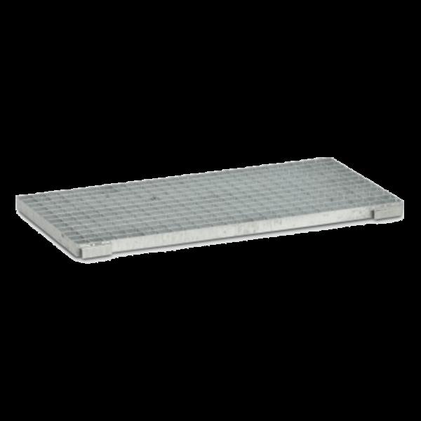 Cemo Gitterrost für GFK-Auffangwanne, Stahl verzinkt - Stück