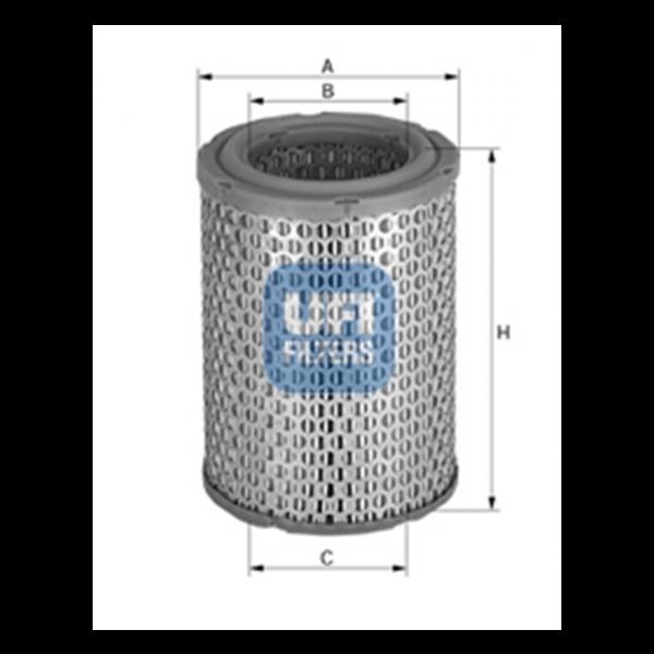 Ufi Luftfilter 27.082.00 - Stück