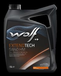 Wolf Oil Extendtech 5W40 HM - 5L Kanne