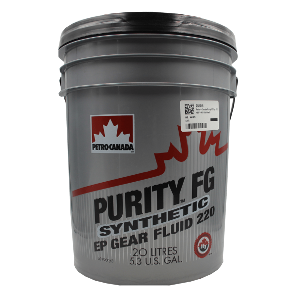 Petro-Canada Purity FG Synthetic EP Gear Fluid 220 - 20L Kanne