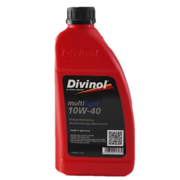 Zeller & Gmelin Divinol Multilight 10W-40 - 1L Flasche