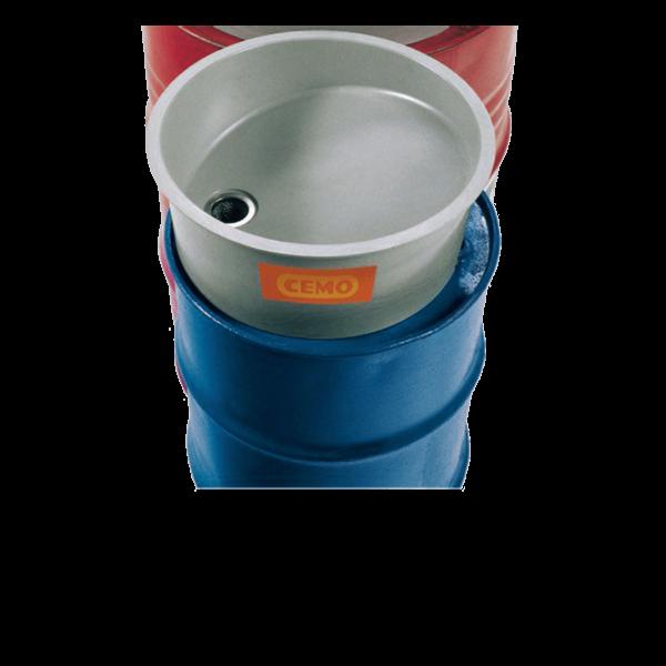 Cemo GFK-Einfülltrichter ohne Deckel für 60 l-Fass - Stück