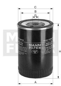 MANN MANN-Filter WK 980/1 - Stück