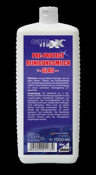 bluechem Pre Protect Reinigungsmilch- Glas - 1L Dose