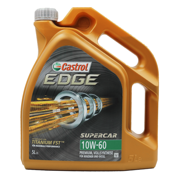 Castrol Edge Supercar 10W-60 - 5L Kanne