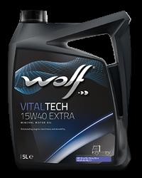 Wolf Oil Vitaltech 15W40 Extra - 5L Kanne