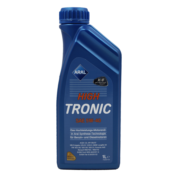 Aral HighTronic 5W-40 - 1L Dose