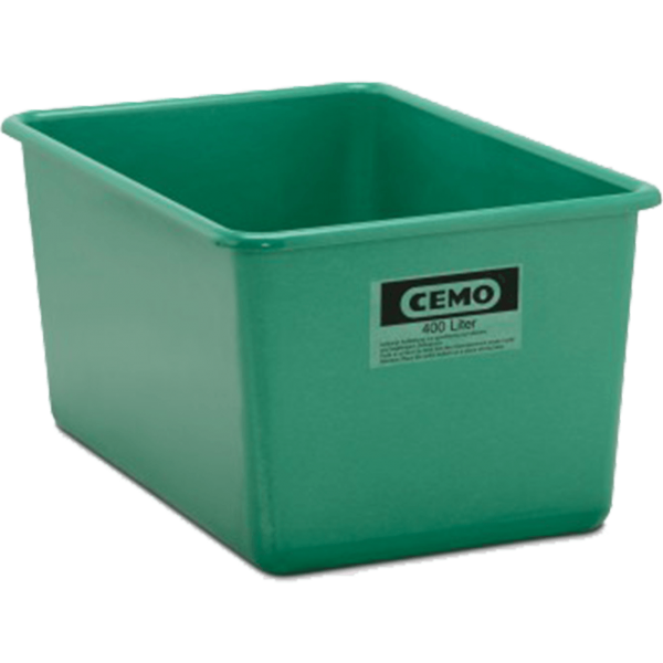 Cemo GFK-Rechteckbehälter 400 l Standard grün - Stück